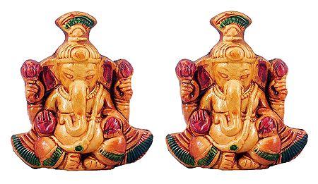 Set of 2 Vinayak