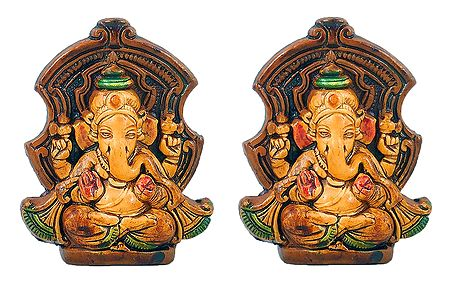 Set of 2 Lord Ganesha