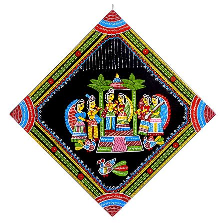 Hindu Wedding Ceremony - Wall Hanging