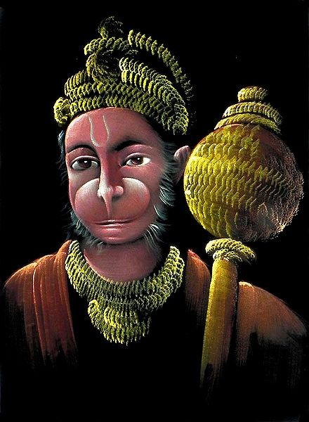 Hanuman - Great Devotee of Lord  Rama