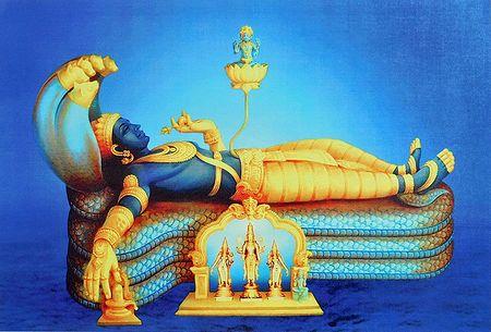 Sree Ananthapadmanabharu - Anantashayan Vishnu