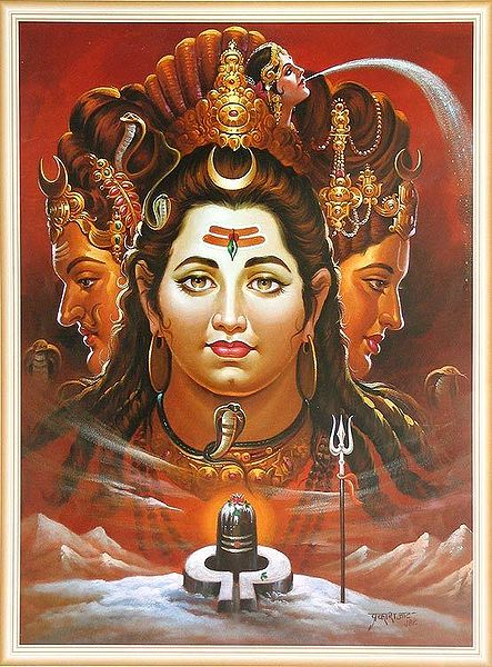 Trinity - Brahma, Vishnu, Shiva