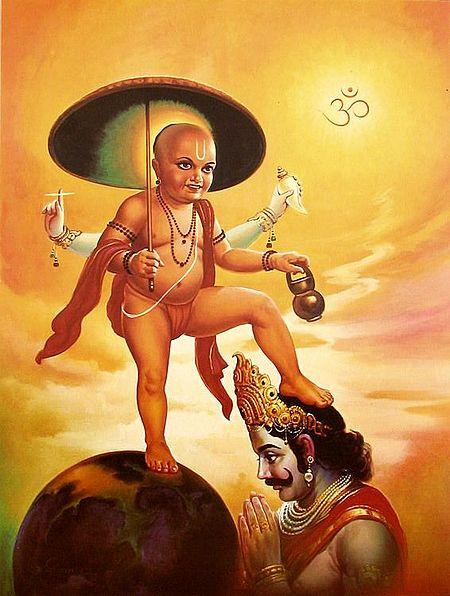 Vaman Avatar - Incarnation of Vishnu