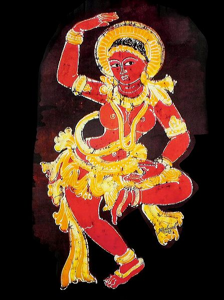 Ajanta Temple Dancer