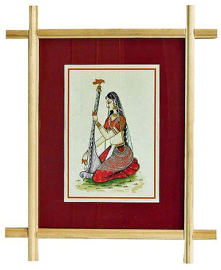 Ragini Deepika - Wall Hanging Picture