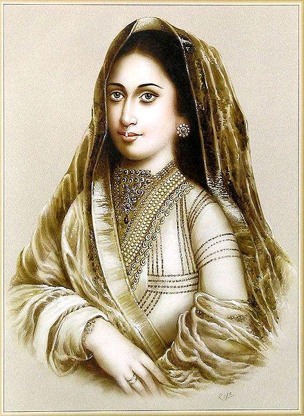 Mughal Queen