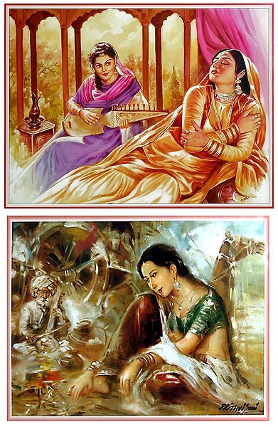 Indian Women - Set of 2 Posters