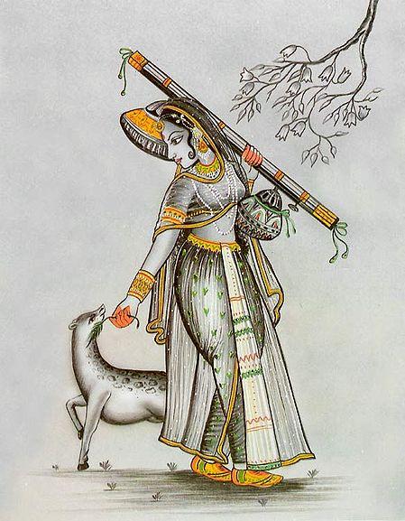 Ragini Todi - Wife of Raga Malkounsa