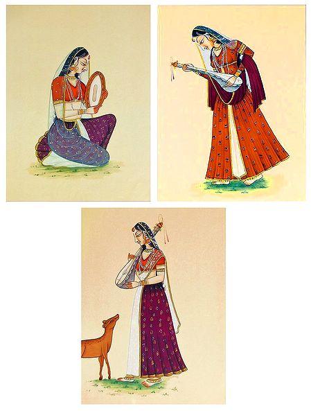 Ragini - Set of 3 Posters