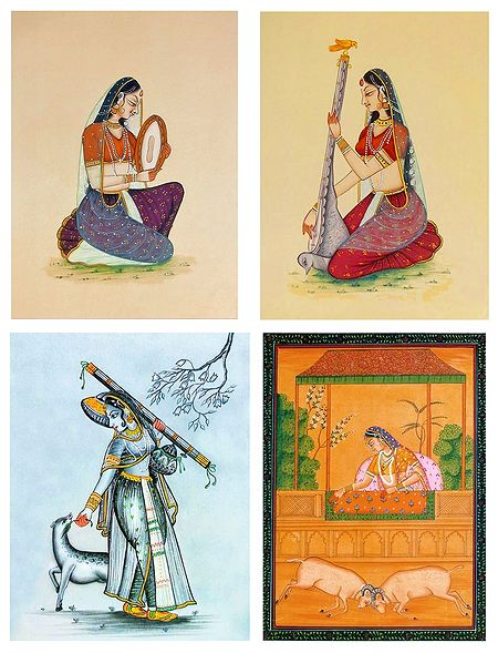 Ragini - Set of 4 Posters