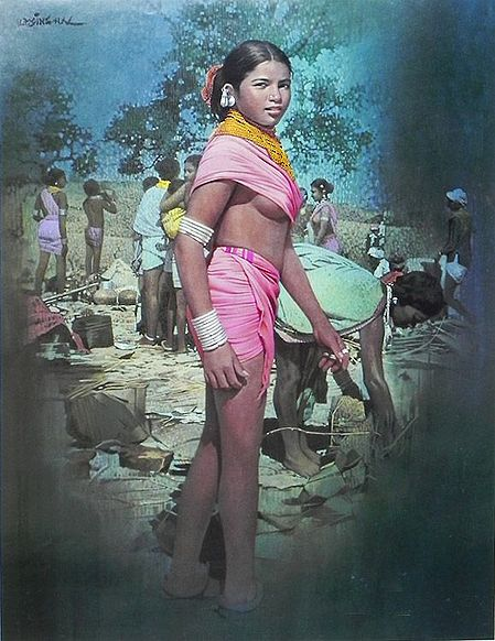 A Tribal Girl