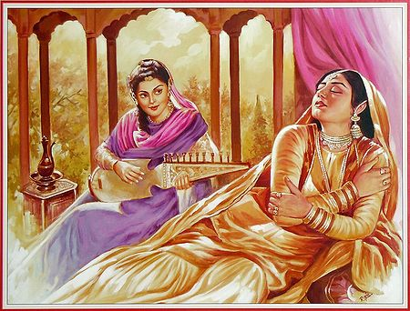 Mesmerized by the Sound of Sarangi