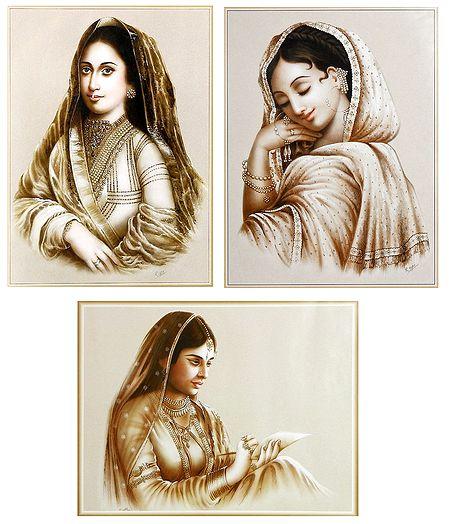 Queens - Set of 3 Posters