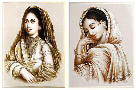 Queens - Set of 2 Posters