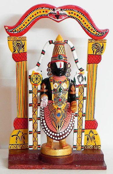 Lord Venkateshwara Kondapalli Doll