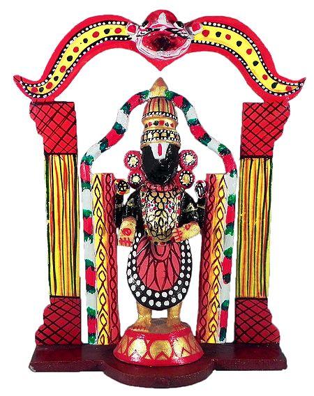 Lord Venkateshwara - Kondapalli Doll