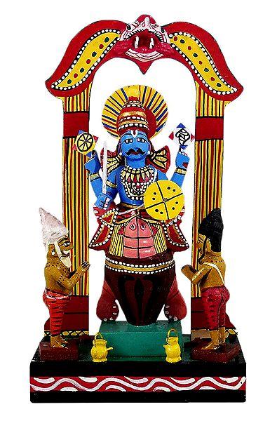 Kurma Avatar - Kondapalli Dolls