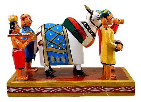 Pola Festival Celebrating Bullocks - Kondapalli Doll