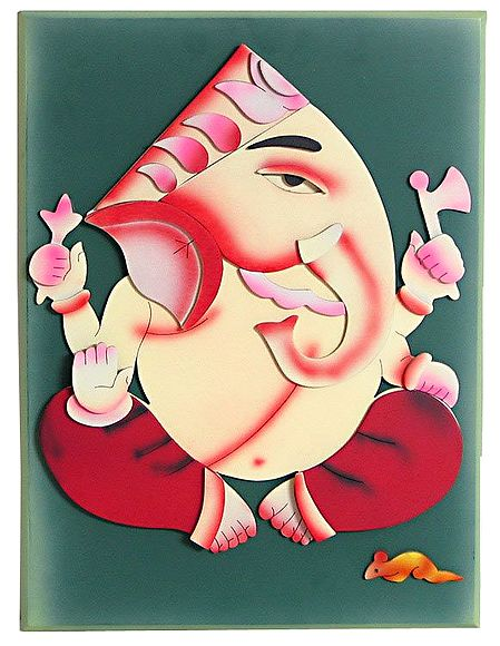 Lord Ganesha - Wall Hanging