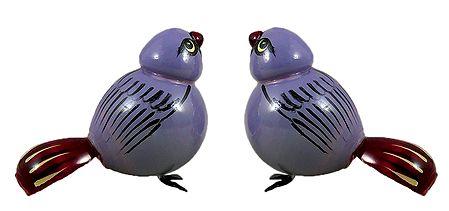 Set of 2 Cute Birds