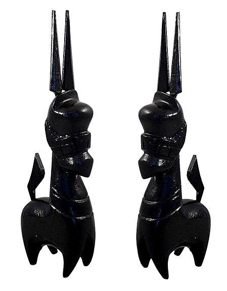 Set of 2 Black Bankura Horses