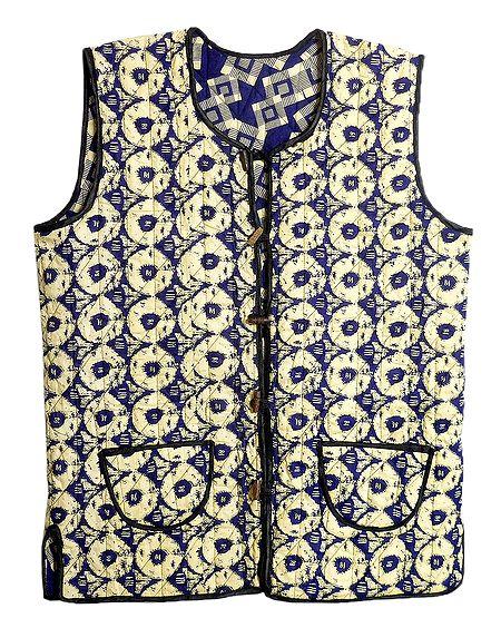 Quilted Reversible Printed Ladies Jacket