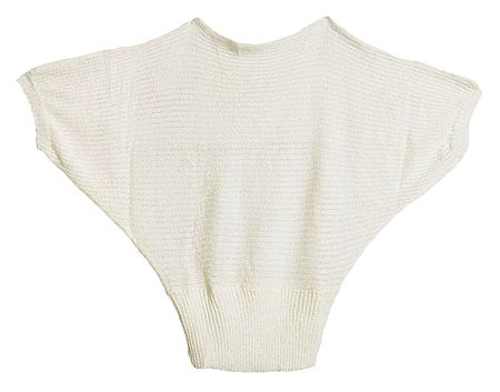 White Woolen Baggy Sweater for Ladies