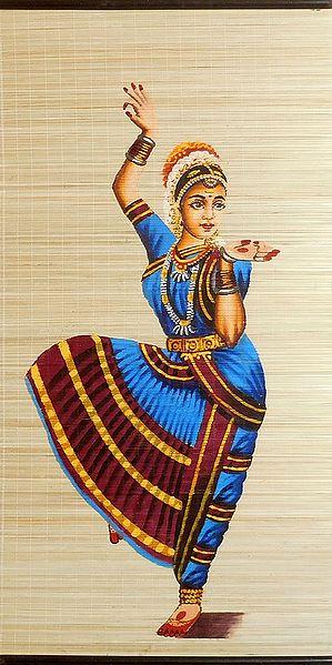 Bharatnatyam Dancer - Wall Hanging