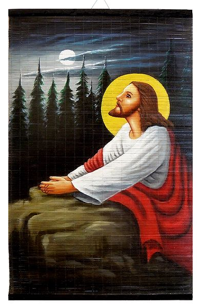 Praying Jesus - Wall Hanging