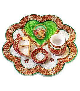 Puja Thalis - Online Store