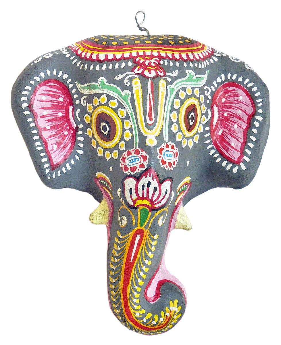 paper mache elephant mask - photo #31