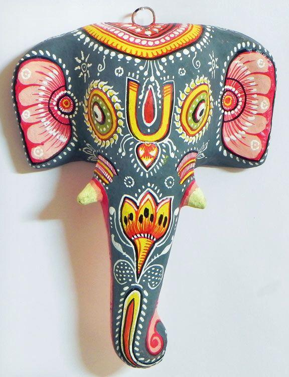 paper mache elephant mask - photo #9