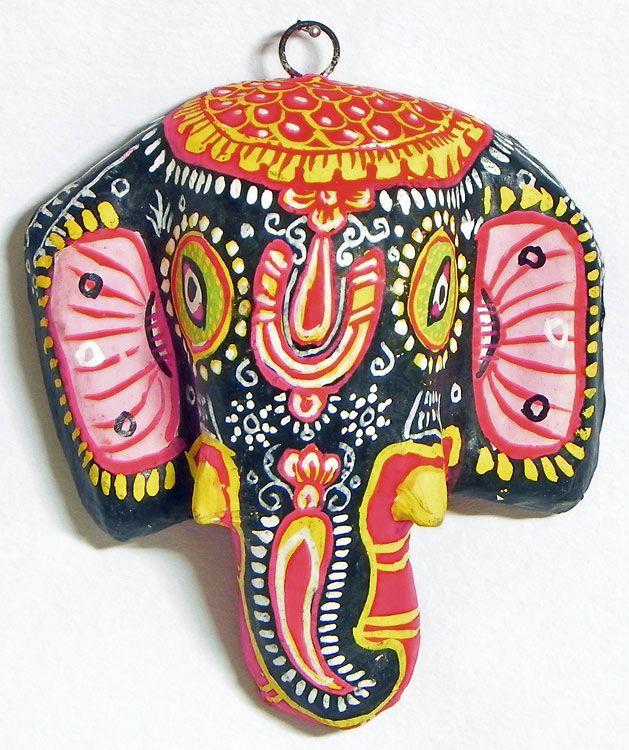 paper mache elephant mask - photo #30
