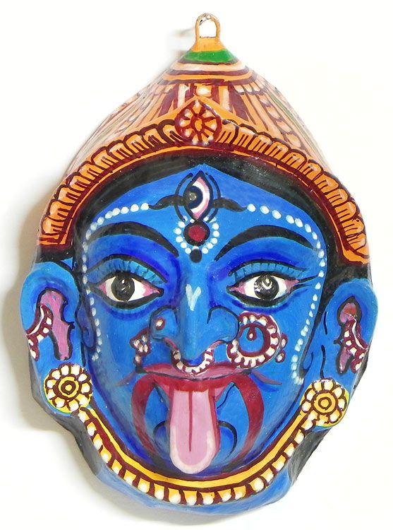 Kali Mask Wall Hanging