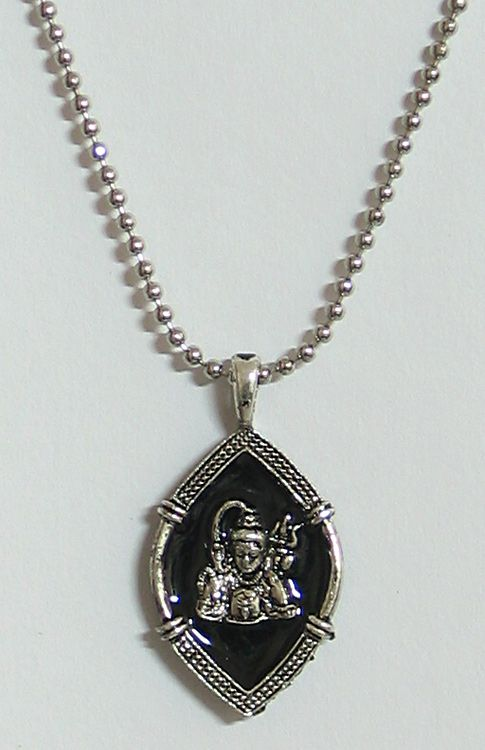 Shiva pendant with chain shiva pendant with chain hover to zoom mozeypictures Choice Image
