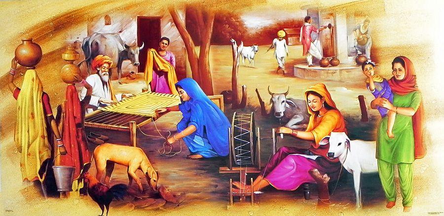 essay on bhangra in punjabi language