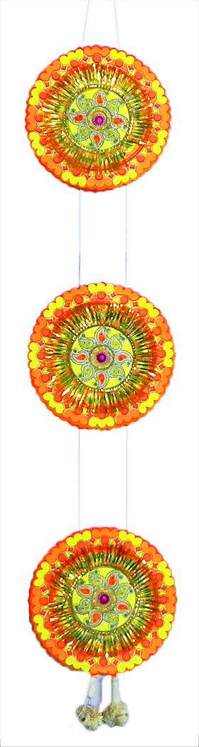 Make Paper Chandmala At Home Very Easy (DIY) | Chandmala ...