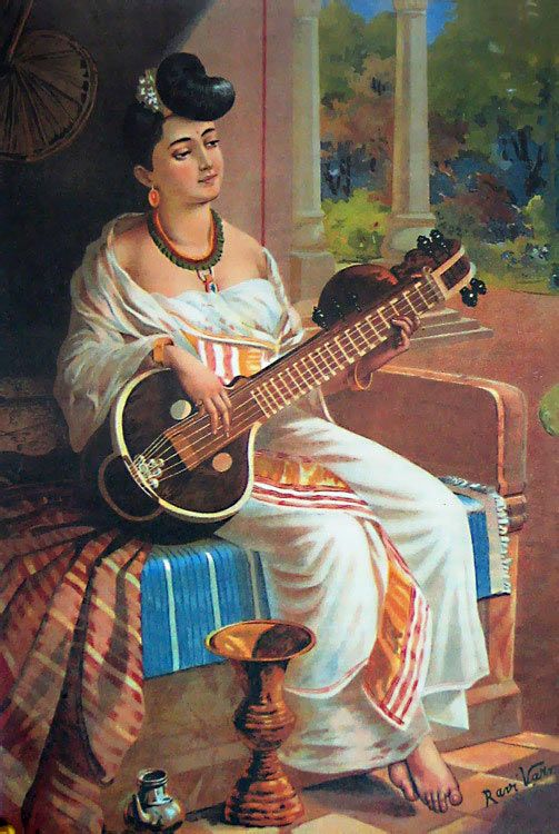 raja ravi varma painting reprint