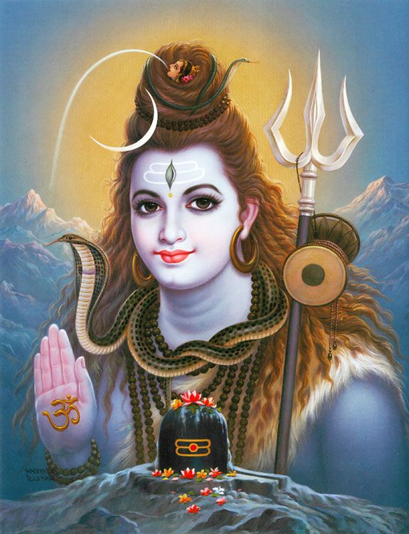 Lord Shiva's Blessing