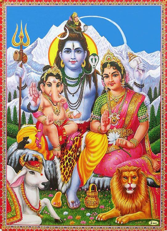 Shiva parvathi lord and The Story