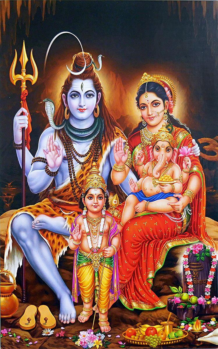 Shiva Family-1252