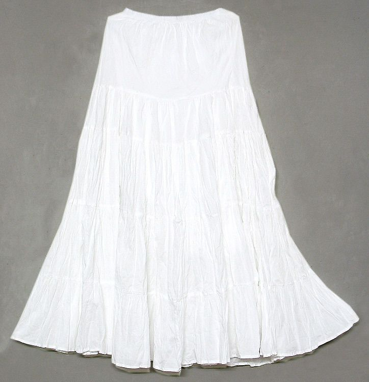 White Skirt Cotton 91