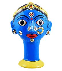 Cheriyal Painted Pen Holder