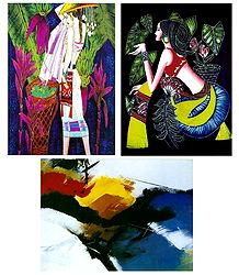 Set of 3 Abstract Posters