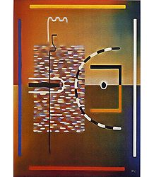 Abstract Painting Reprint