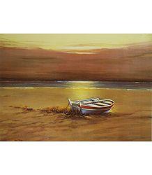 Boats Near the River