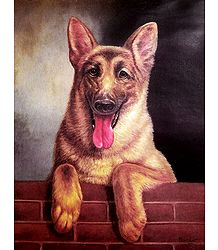 German Shepherd Dog - Poster