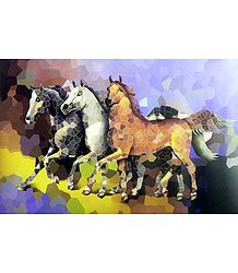 Horses Poster - Buy Online