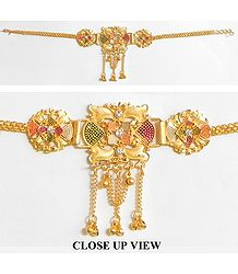 Gold Polish Armlet (To wear on upper arm)