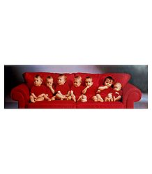 Cuties in Red - Poster